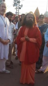 Pujya Swamiji Parmath Niketan başkanı