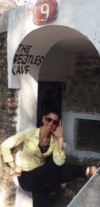Lenon'un aydınlanmak için kaldığı hücre. Beatles Ashram