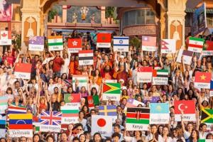 71 ülkeden biri olarak Türkiye'yi temsil etmenin gururu