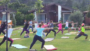 1Çıralı da yoga seansımızdan kareler