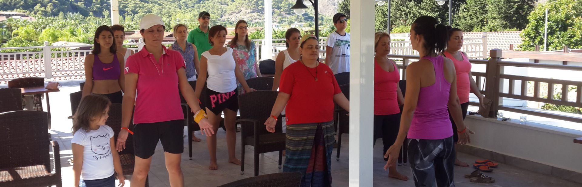 2016 Eylül  Yoga Çıralı Etkinliği