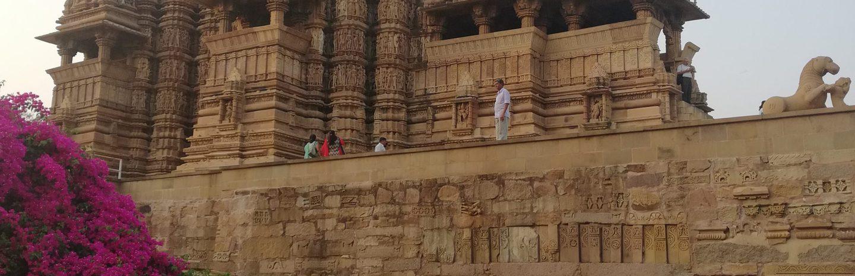 Hindistan 2018  Khajuraho Orchha Jhansi